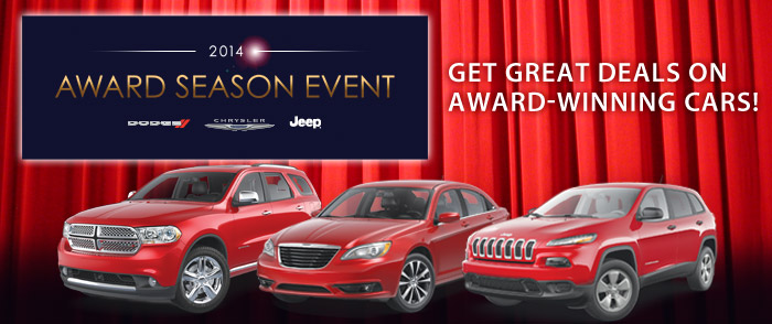 Hurry in for Great Deals during the 2014 Award Season Event at Salerno in Summit, NJ