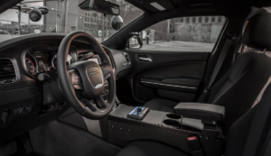 INTERIOR: Interior shot of the 2015 Dodge Charger Pursuit