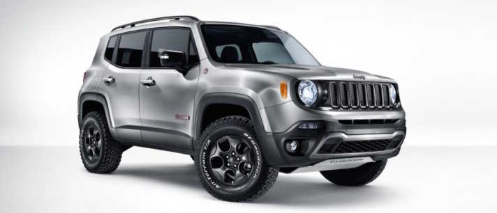 Jeep Renegade Hard Steel Concept Revealed at Geneva Auto Show