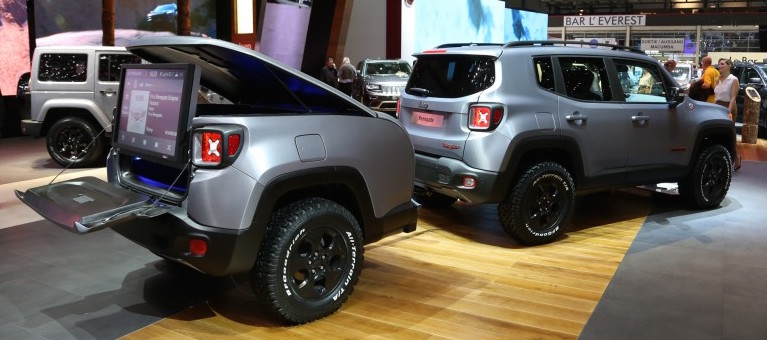 Jeep Renegade Hard Steel Concept Nj With Matching Trailer