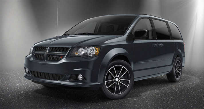 2015 Dodge Grand Caravan Blacktop Package NJ