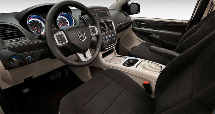 2015 Dodge Grand Caravan SXT Interior NJ