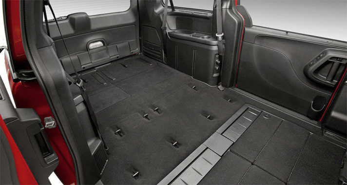 2015 Dodge Grand Caravan with the available Super Stow 'n Go®