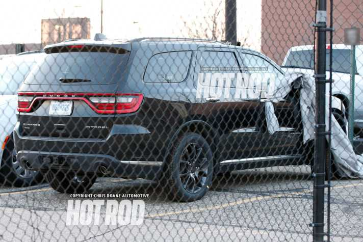 Powerful 2018 Dodge Durango Hellcat Could Be in the Making rear