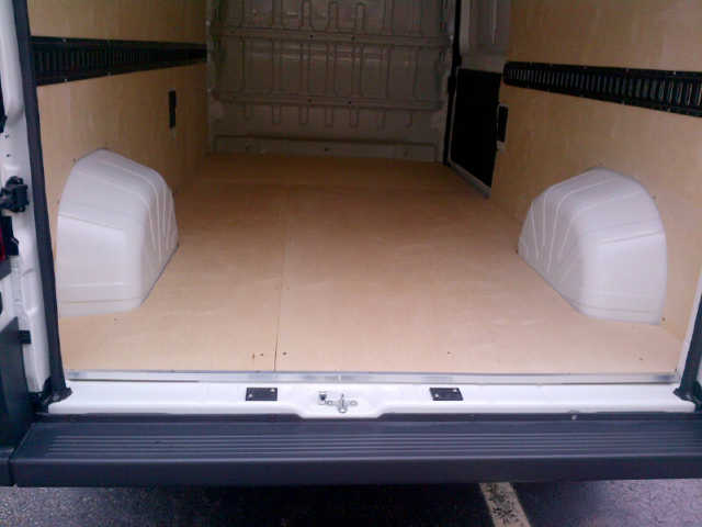 Custom Contractor Commercial Van NJ