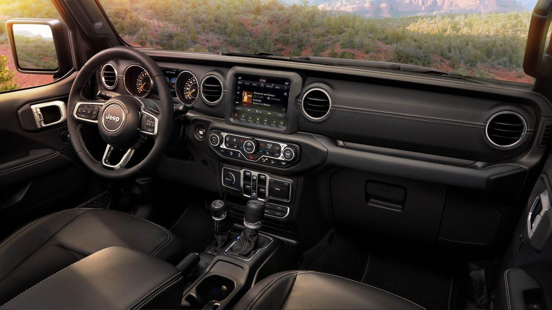 2018 Jeep Wrangler Jl Gallery Interior Sahara Dashboard Jpg Image