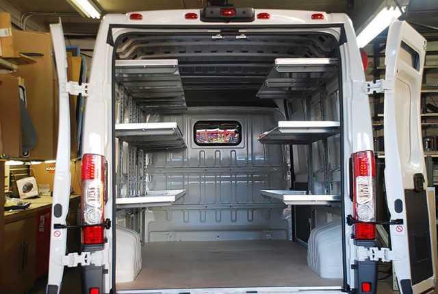 Ram ProMaster HVAC Van Upfits NJ