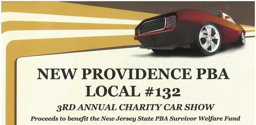 3rd Annual New Providence PBA Car Show